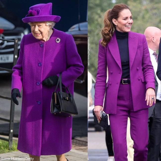 Nhìn những lần Công nương Kate diện đồ hao hao Nữ hoàng Anh, dân tình khen cô đã rất ra dáng Hoàng hậu tương lai - Ảnh 10.