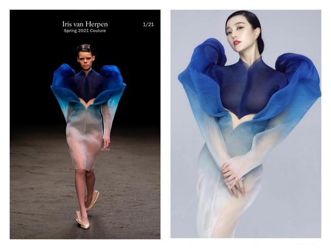 Phạm Băng Băng là người đầu tiên diện thiết kế váy siêu thực: Thần thái nức nở, nhan sắc đẹp đến thoát tục  - Ảnh 3.