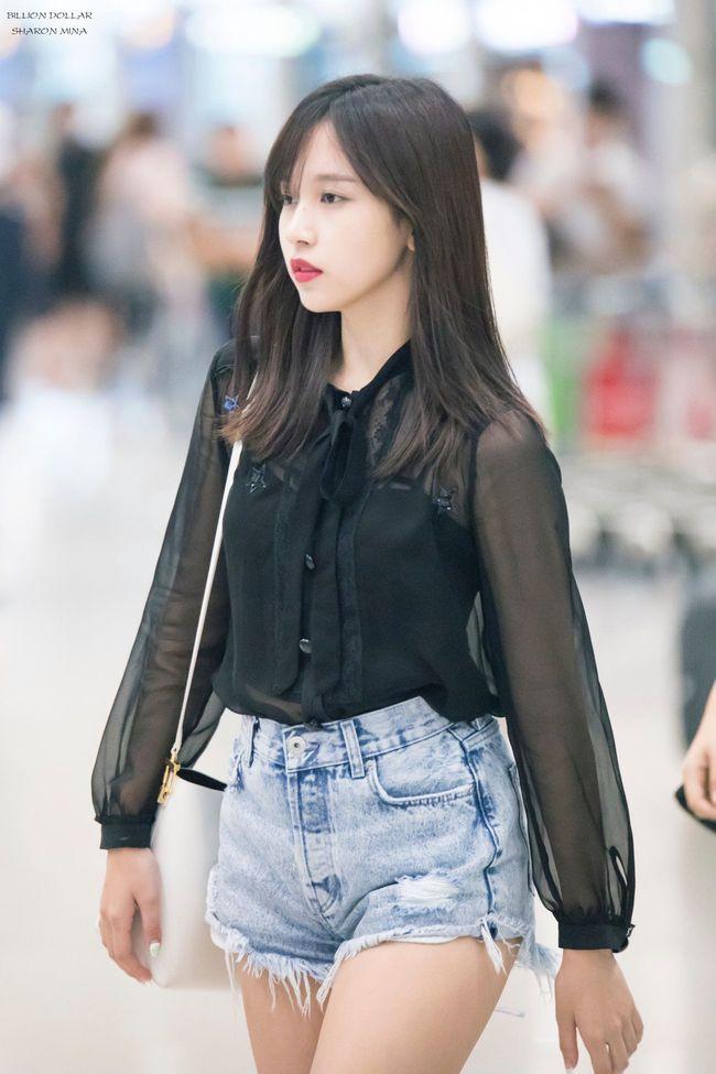 """Quả đúng là tiểu thư gia thế khủng, Mina (TWICE) mặc toàn đồ đơn giản cũng tỏa khí chất """"lá ngọc cành vàng"""" nhìn mà mê  - Ảnh 8."""