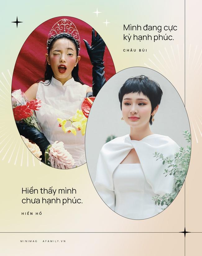 """Đầu xuân trò chuyện cùng 2 """"quý cô tuổi Trâu"""" Hiền Hồ - Châu Bùi: Định nghĩa về hạnh phúc ở tuổi 23 và bật mí hình mẫu đàn ông lý tưởng - Ảnh 10."""