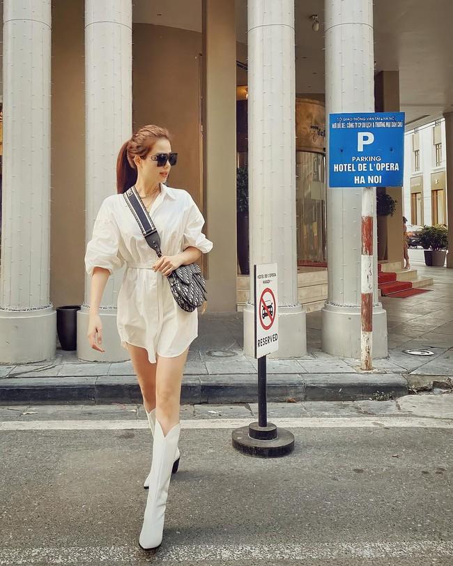 Những outfit đơn giản nhưng cực ra dáng phu nhân Tổng giám đốc của Phanh Lee - Ảnh 6.