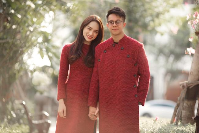 Hương Giang tình tứ bên bạn trai CEO Singapore ngày đầu năm mới - Ảnh 2.