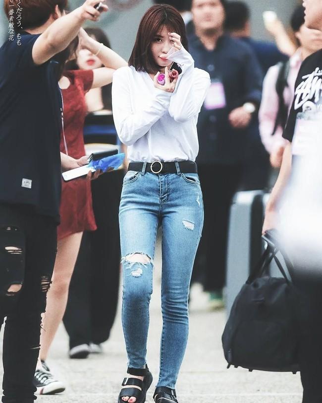 Momo cao có 1m62 quần skinny jeans - Ảnh 2.