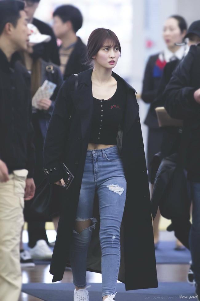 Momo cao có 1m62 quần skinny jeans - Ảnh 8.