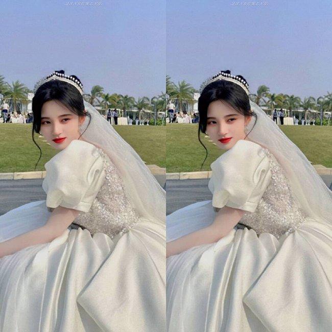 Cúc Tịnh Y mặc váy cưới đẹp mong manh yếu đuối nhưng vẫn bị netizen mắng té tát vì mặt quá đơ cứng  - Ảnh 5.