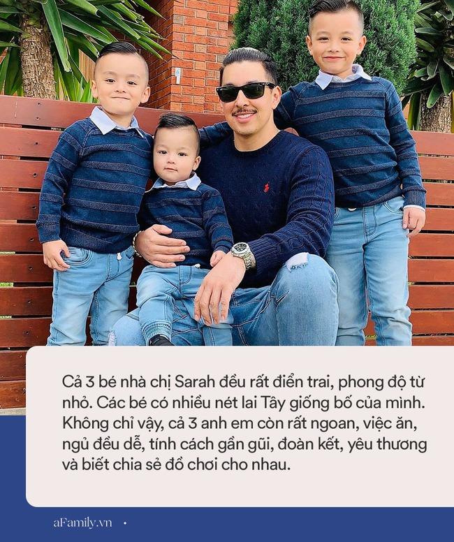 """Mẹ trẻ 5 năm sinh 3 con trai bé nào cũng sở hữu dung mạo """"cực phẩm"""", nhìn ảnh người chồng dân mạng khuyên: """"Phải đẻ hết trứng"""" - Ảnh 7."""