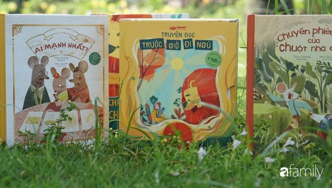Bí mật tạo nên sự khác biệt kì diệu trong những cuốn sách đọc trước giờ đi ngủ cho trẻ từ 0-6 tuổi - Ảnh 1.