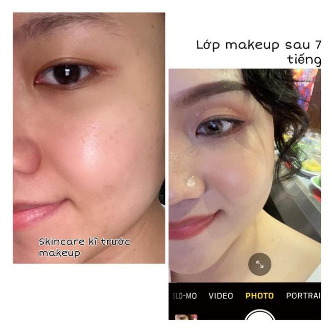 Làm việc trong trung tâm thương mại, cô nàng này chia sẻ bí quyết giữ lớp makeup từ sáng tới chiều  - Ảnh 1.