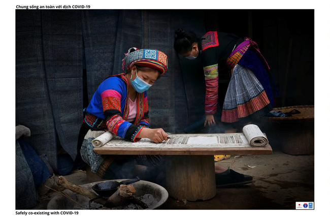 ẢNH: Các thiếu nữ Quảng Bạ vừa chống dịch vừa phát triển kinh tế - Ảnh 9.