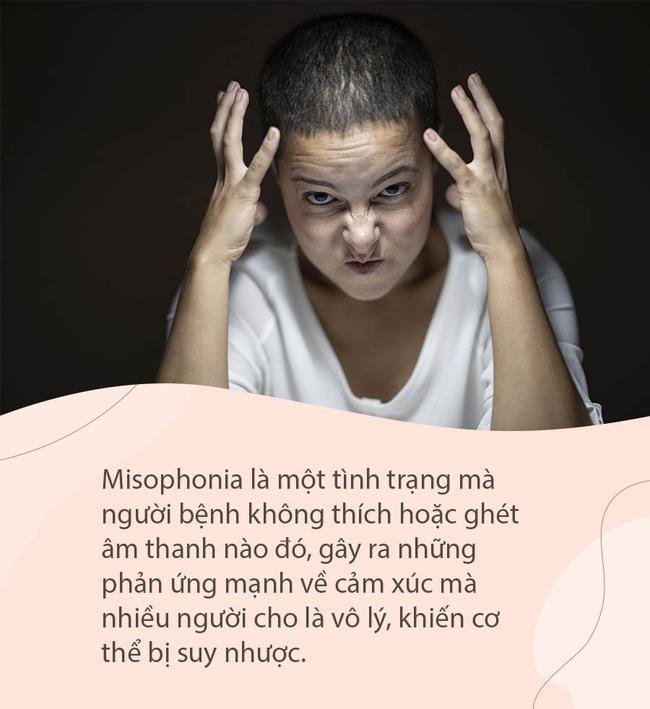 Hội chứng hiếm gặp khiến người phụ nữ phát điên khi nghe thấy tiếng thở của người khác, thậm chí cầu xin bác sĩ làm mình bị điếc - Ảnh 2.