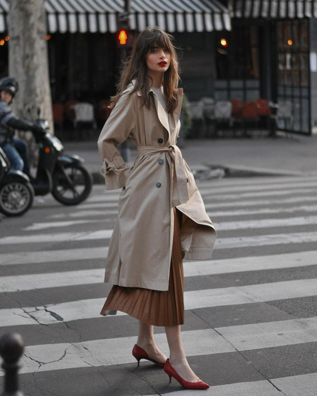 trench coat - Ảnh 10.