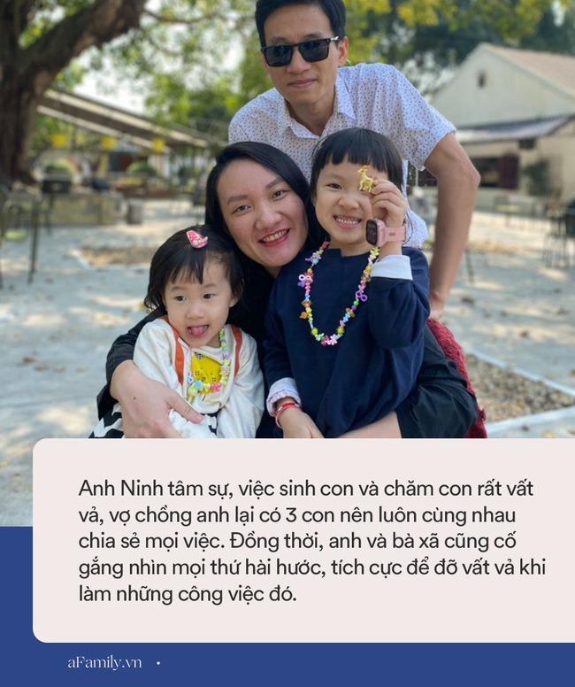 """Ông bố 3 con kể chuyện chăm con mọn mà như phim Hàn Quốc khiến ai nấy """"cười xỉu"""": Nam chính điển trai, lạnh lùng vẫn phải dọn phân, thay bỉm cho con như thường - Ảnh 3."""