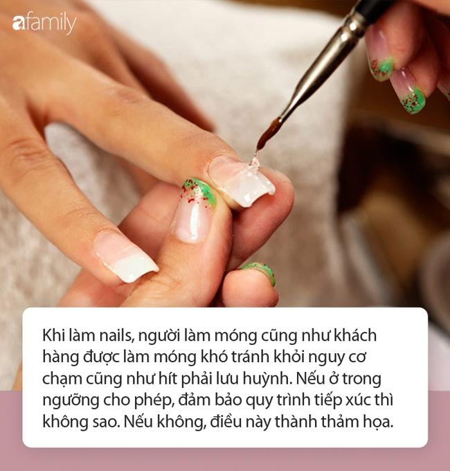 Làm nails để có bộ móng đẹp long lanh, độc đáo: Chị em cẩn thận nguy cơ hít phải loại hóa chất cực độc này - Ảnh 3.