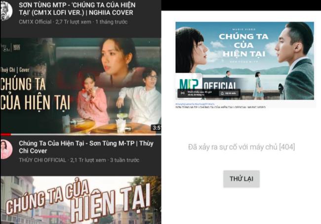 """MV """"Chúng ta của hiện tại"""" bất ngờ biến mất, netizen gọi tên Sơn Tùng M-TP và Hải Tú  - Ảnh 1."""