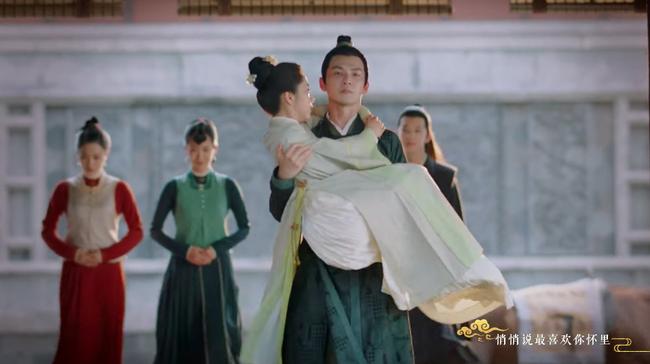 """Đỏ mặt với cảnh giường chiếu ôm ấp của Đàm Tùng Vận và """"ông chú U50"""" Chung Hán Lương  - Ảnh 9."""