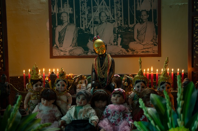 Phim bùa ngải của Victor Vũ - Chi Pu công bố lịch chiếu, Trúc Anh gây choáng với cảnh nhận búp bê làm con - Ảnh 6.