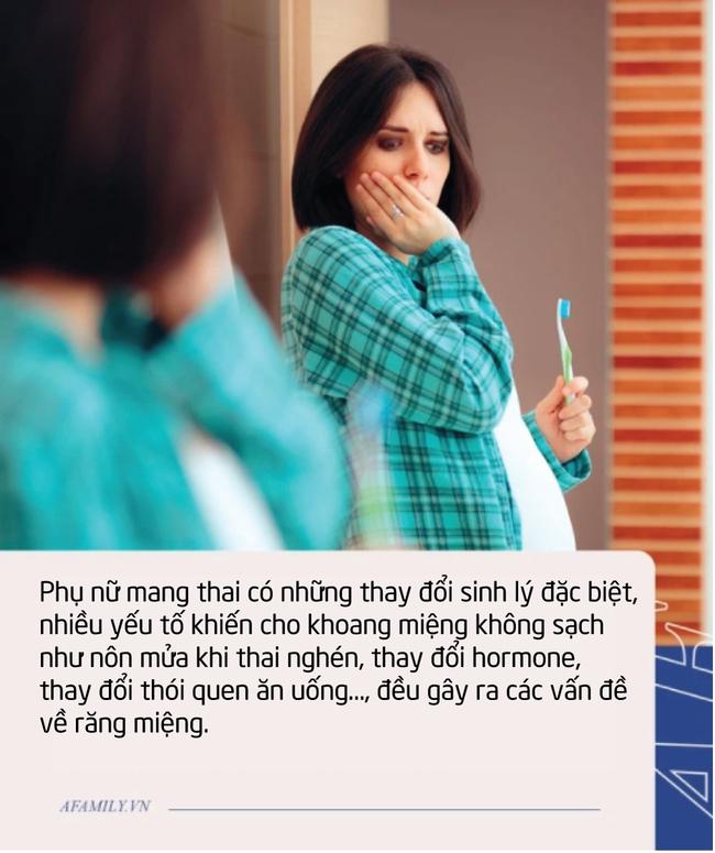 Đừng chủ quan với những cơn đau răng khi mang thai, nó có thể gây sảy thai nếu biến chứng nặng - Ảnh 1.