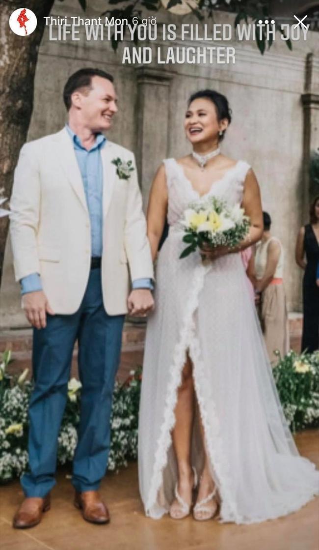 Chồng cũ Hồng Nhung và vợ đại gia kỷ niệm ngày cưới bằng loạt ảnh tình tứ - Ảnh 2.