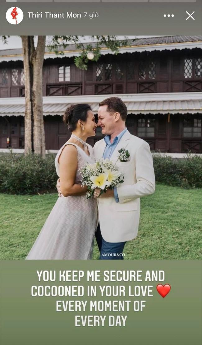 Chồng cũ Hồng Nhung và vợ đại gia kỷ niệm ngày cưới bằng loạt ảnh tình tứ - Ảnh 1.