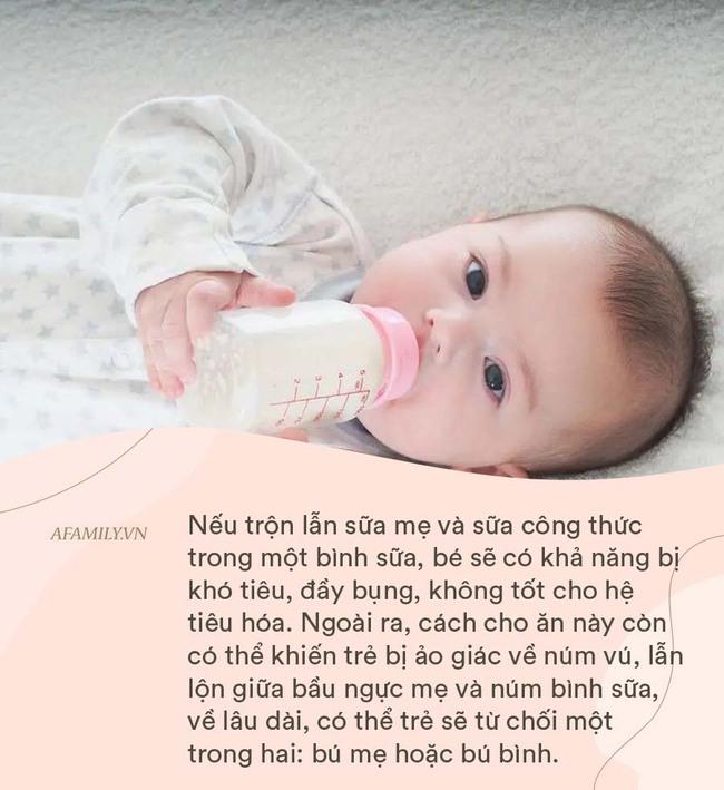 Hầu hết trẻ nhỏ đều vừa bú mẹ vừa bú bình, đây là 4 điều các mẹ cần lưu ý để bé nhanh cứng cáp khi ăn kết hợp 2 loại sữa - Ảnh 1.