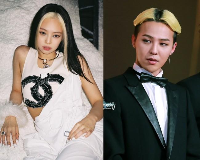 """G-Dragon và Jennie là """"ông hoàng bà chúa"""" của những kiểu tóc dị thường, đàng gái lắm lúc như lấy cảm hứng từ đàng trai vậy - Ảnh 9."""