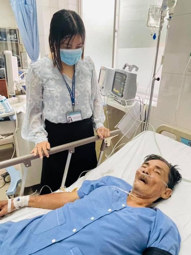 Vợ diễn viên Thương Tín đã có mặt tại bệnh viện, tình trạng sức khỏe hiện tại được tiết lộ - Ảnh 3.