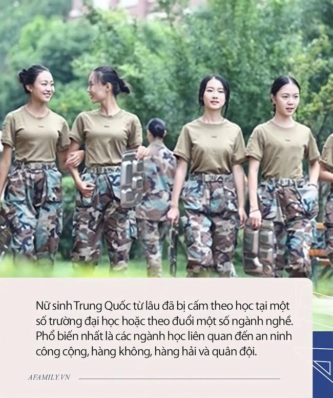 Nhiều phụ nữ Trung Quốc bị cấm theo học tại một số trường đại học hoặc theo đuổi một số ngành nghề, nguyên nhân chỉ vì điều này - Ảnh 2.