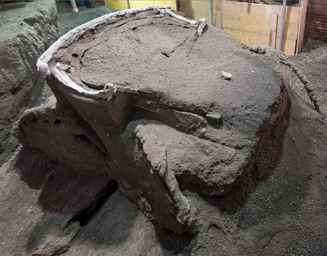 """Mày mò tìm kiếm ở thành phố diệt vong Pompeii, các nhà khoa học sửng sốt khi khám phá ra thứ """"độc nhất vô nhị"""" vô cùng quý giá - Ảnh 1."""