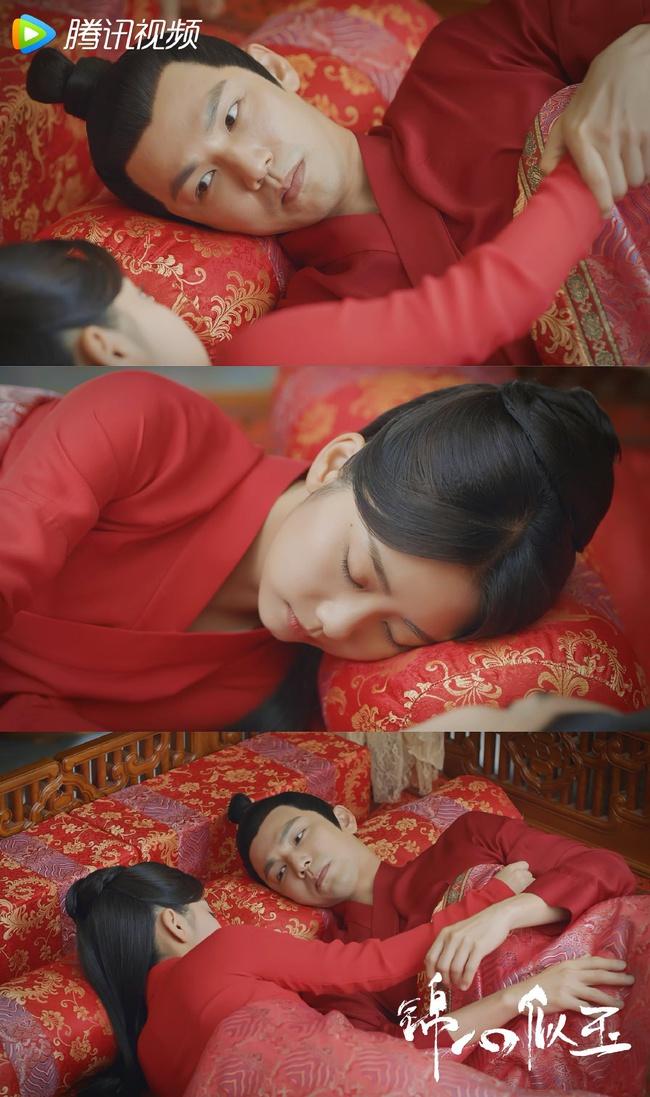 """Cẩm tâm tựa ngọc: Loạt cảnh """"nóng mắt"""" của Đàm Tùng Vận - Chung Hán Lương, có cả giường chiếu và cởi đồ đi tắm - Ảnh 5."""