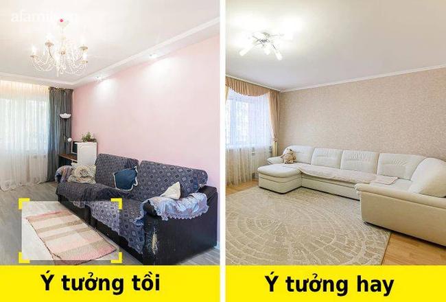 8 sai lầm khi thiết kế mà chủ sở hữu căn hộ nhỏ thường mắc phải - Ảnh 2.