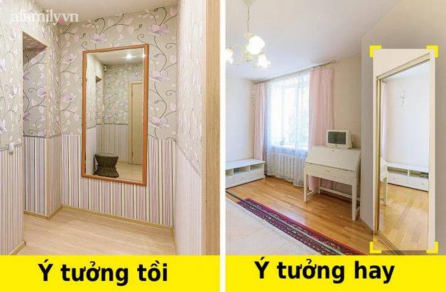 8 sai lầm khi thiết kế mà chủ sở hữu căn hộ nhỏ thường mắc phải - Ảnh 8.