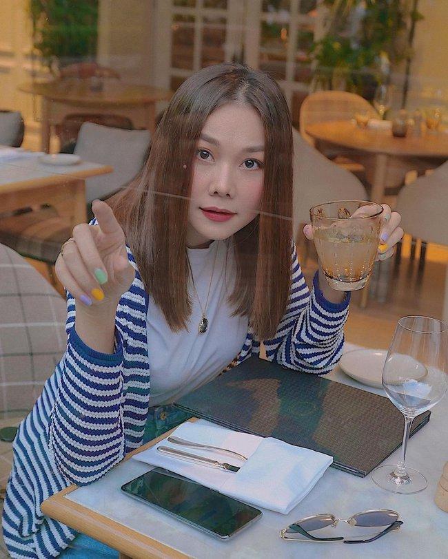 Tham khảo các mỹ nhân Việt 12 bộ nail từ đơn giản đến siêu lồng lộn để diện Tết Tân Sửu - Ảnh 12.