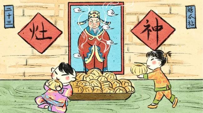 """Chuyện người Trung Hoa tiễn Táo Quân cưỡi ngựa về trời, dùng rượu ngon và món ngọt để """"khóa"""" miệng Táo Quân, không tâu bẩm chuyện xấu ở trần gian - Ảnh 2."""