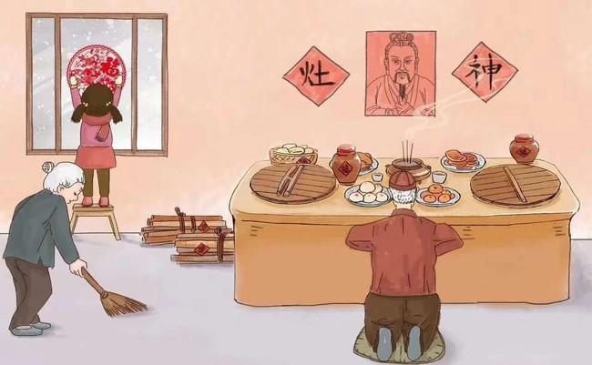 """Chuyện người Trung Hoa tiễn Táo Quân cưỡi ngựa về trời, dùng rượu ngon và món ngọt để """"khóa"""" miệng Táo Quân, không tâu bẩm chuyện xấu ở trần gian - Ảnh 1."""