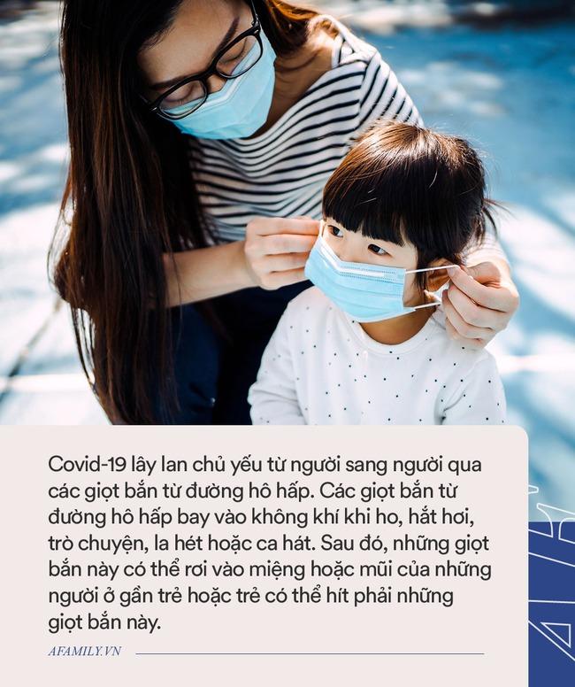 Còn làm những việc này, bố mẹ đang đẩy con vào tình huống có nguy cơ lây nhiễm Covid-19 cao - Ảnh 4.