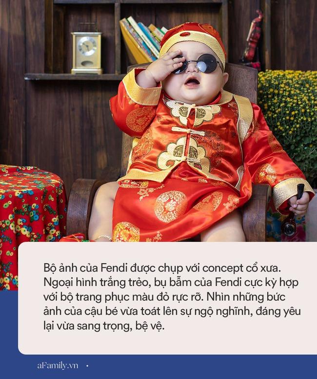"""Bộ ảnh Tết của bé trai 1 tuổi gây sốt MXH vì đáng yêu """"phát hờn"""": Nhìn thôi đã thấy năm mới vui vẻ, khỏe mạnh, sung túc đủ đầy rồi! - Ảnh 6."""