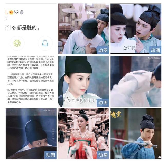 Cổ Lực Na Trát mắng netizen là bẩn thỉu khi vướng tin đồn bị Hứa Ngụy Châu sàm sỡ ngực - Ảnh 3.