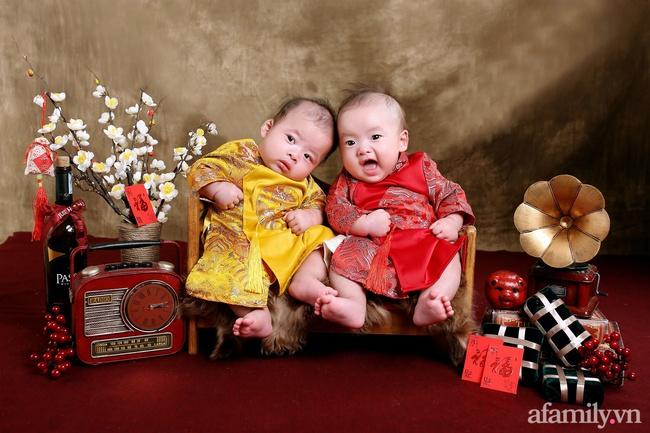 Sara Lưu tiết lộ năm qua cặp sinh đôi chào đời như trở thành thiên thần hộ mệnh của ba mẹ, Tết này sẽ rực rỡ hơn năm trước rất nhiều - Ảnh 5.