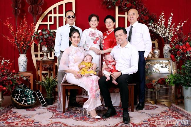 Sara Lưu tiết lộ năm qua cặp sinh đôi chào đời như trở thành thiên thần hộ mệnh của ba mẹ, Tết này sẽ rực rỡ hơn năm trước rất nhiều - Ảnh 3.