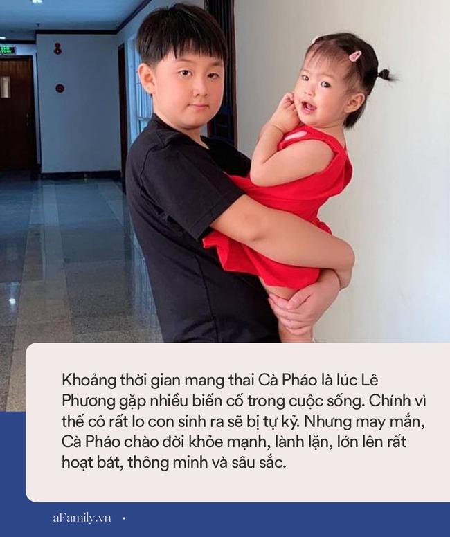 Con trai Lê Phương và Quách Ngọc Ngoan càng lớn càng bảnh bao, cao lớn, nhưng nữ diễn viên từng tiết lộ sợ bé bị tự kỷ vì lý do này - Ảnh 5.