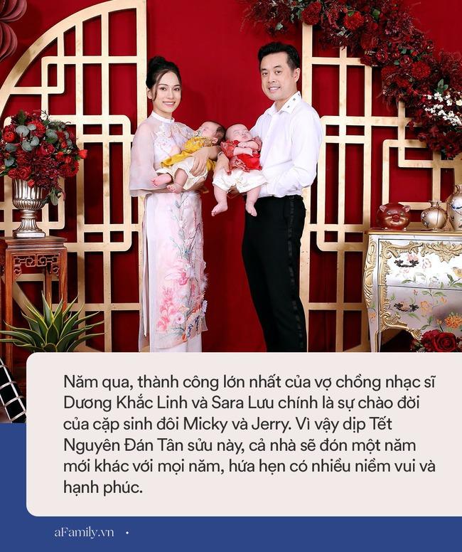 Sara Lưu tiết lộ năm qua cặp sinh đôi chào đời như trở thành thiên thần hộ mệnh của ba mẹ, Tết này sẽ rực rỡ hơn năm trước rất nhiều - Ảnh 7.