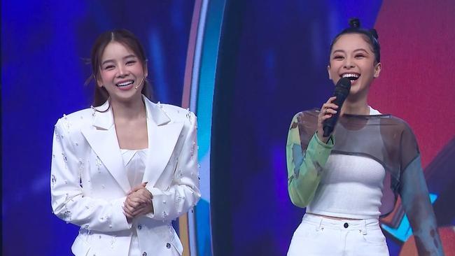 Sau loạt tin đồn chia tay Hồng Thanh, DJ xinh đẹp nhất Rap Việt - Mie lần đầu ngồi ghế nóng - Ảnh 4.