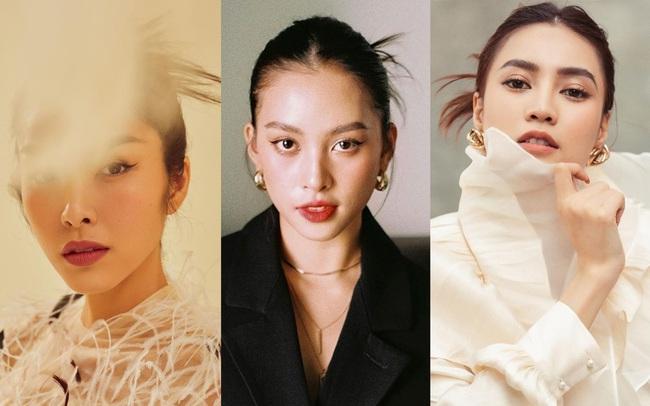 """Hà Tăng, Lan Ngọc và Tiểu Vy gây """"lú"""" khi búi tóc cùng kiểu: Trông khác nào ba chị em không? - Ảnh 6."""