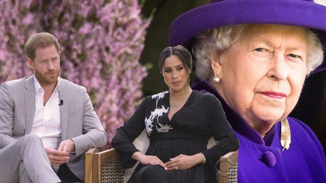 Nữ hoàng Anh chính thức lên tiếng sau cuộc phỏng vấn rúng động của nhà Sussex khiến công chúng hài lòng, còn vợ chồng Meghan hẳn phải thấy xấu hổ - Ảnh 2.