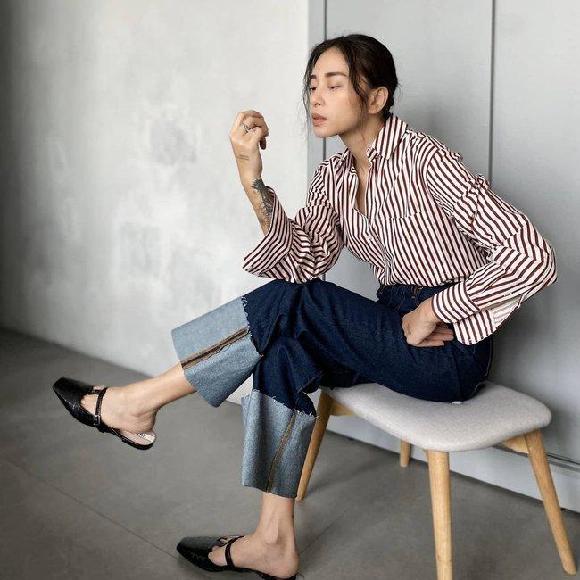 Trời ấm lên, cập nhật ngay 12 cách diện áo sơ mi/blouse của các mỹ nhân Việt để sành điệu từ công sở ra phố - Ảnh 2.