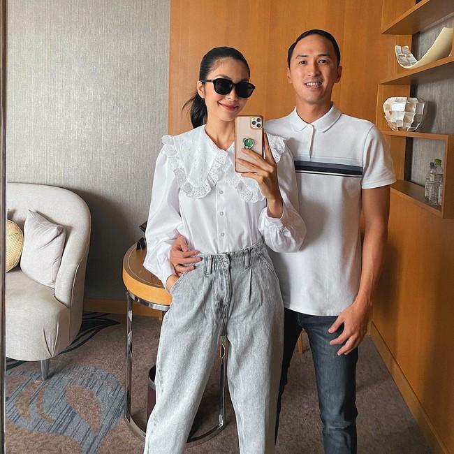 Trời ấm lên, cập nhật ngay 12 cách diện áo sơ mi/blouse của các mỹ nhân Việt để sành điệu từ công sở ra phố - Ảnh 3.