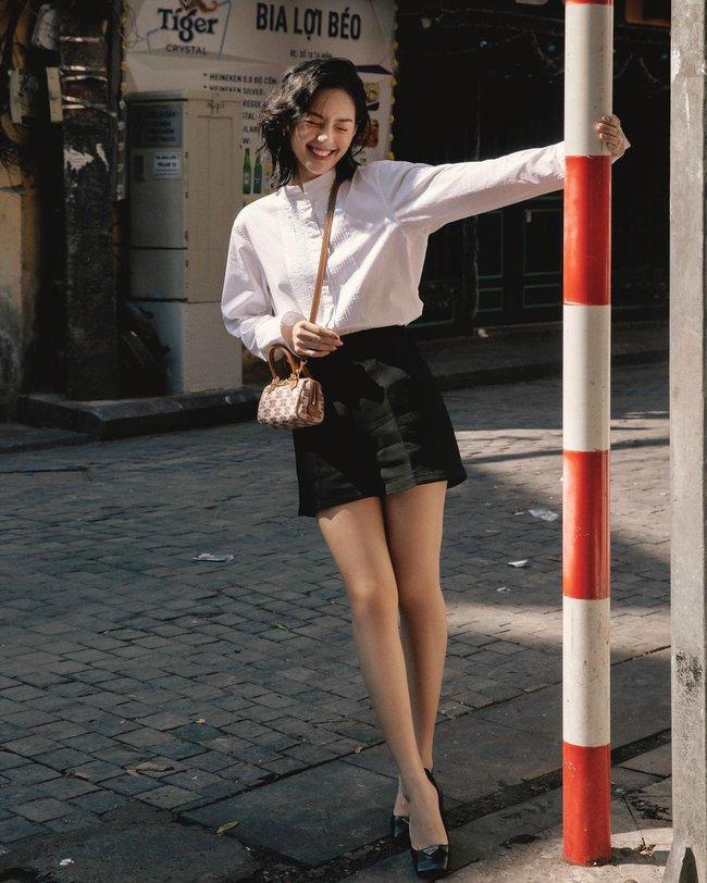 Trời ấm lên, cập nhật ngay 12 cách diện áo sơ mi/blouse của các mỹ nhân Việt để sành điệu từ công sở ra phố - Ảnh 6.
