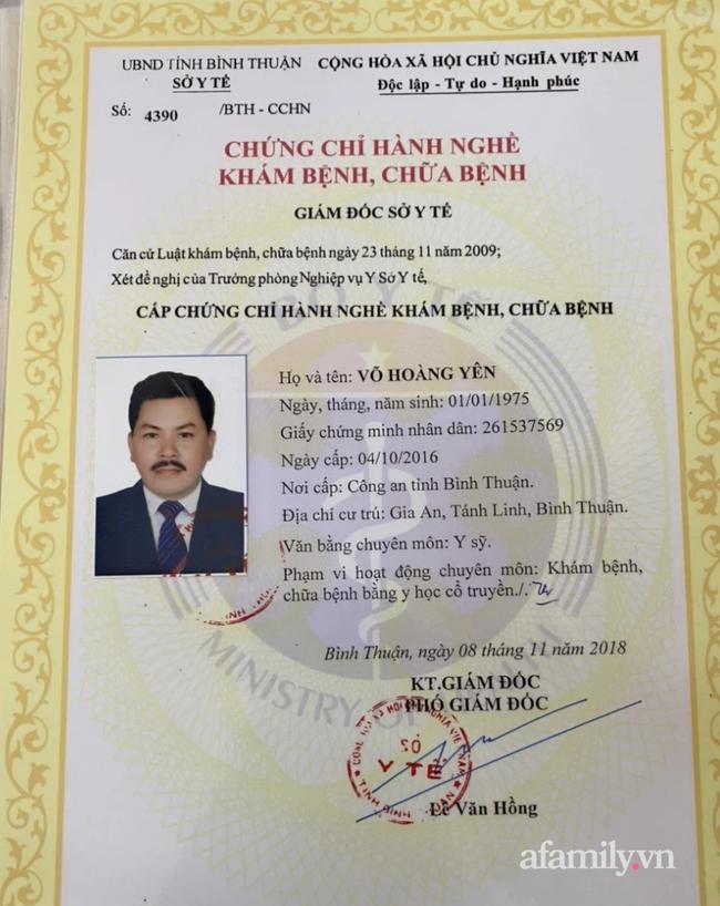 """KHẨN: Bộ Y tế yêu cầu báo cáo vụ """"thần y"""" Võ Hoàng Yên bị tố chữa bệnh lừa đảo - Ảnh 1."""
