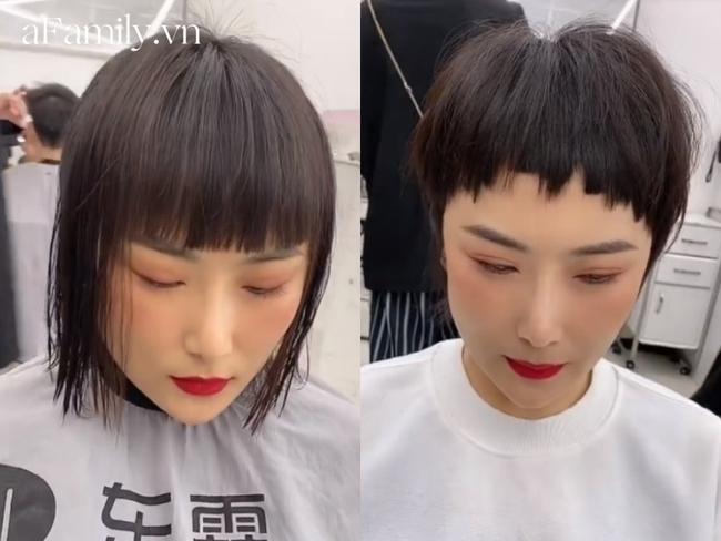6 cô nàng trải nghiệm cắt tóc ngắn theo xu hướng mới, 100% đều câm nín khi nhìn thành phẩm - Ảnh 3.