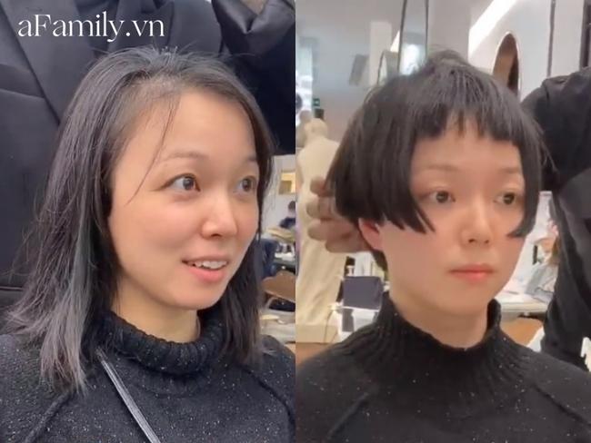 6 cô nàng trải nghiệm cắt tóc ngắn theo xu hướng mới, 100% đều câm nín khi nhìn thành phẩm - Ảnh 6.